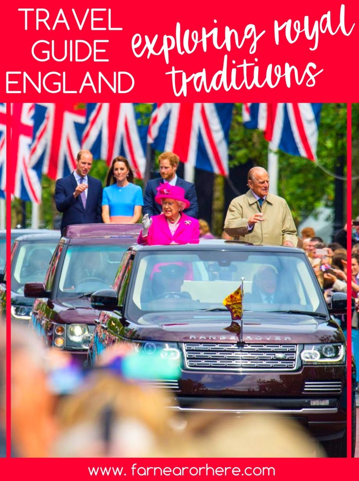 Travel guide England, exploring royal traditions...