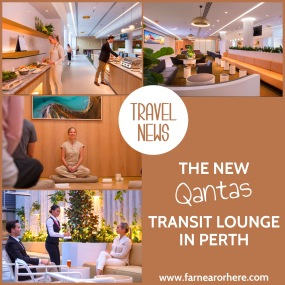 Qantas' new transit lounge in Perth opens ...