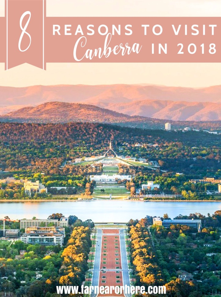 Eight reasons to travel to Canberra in 2018 ...