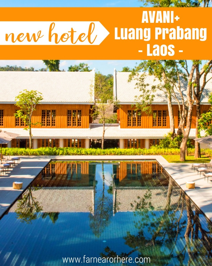 Laos' newest hotel, the AVANI+ Luang Prabang...