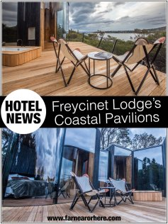 New Coastal Pavilions at Tasmania's Freycinet Lodge ...