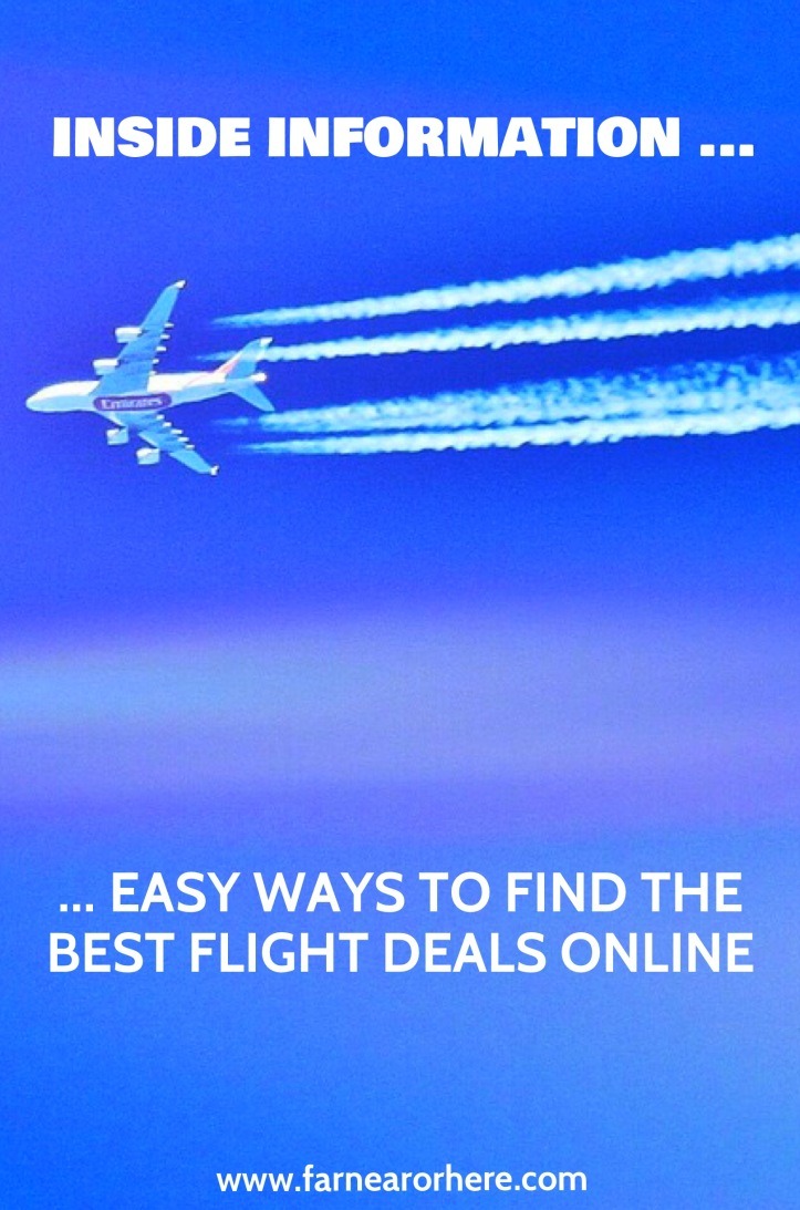 Hints to finding the best flight deals online ...