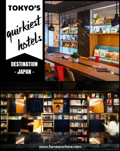 Visiting Tokyo? Stay in a quirky hotel ...