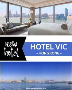 Hong Kong's new Hotel VIC ...