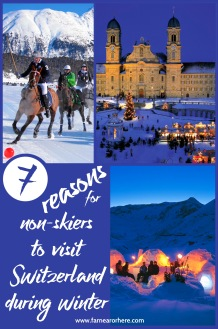 Seven reasons for non-skiers to visit Switzerland during winter ...
