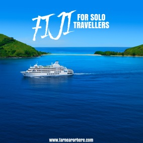 Fiji cruise for solo travellers