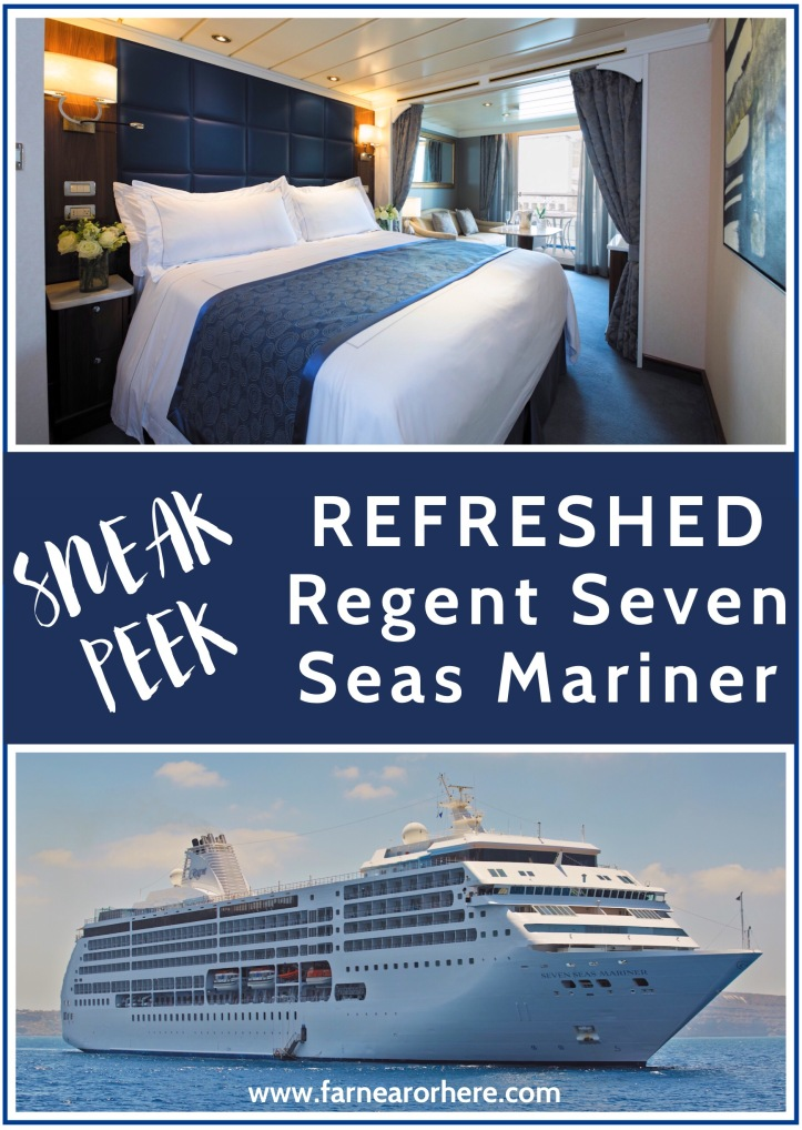 Cruising on the refreshed Seven Seas Mariner