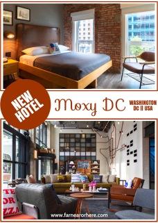 Washington DC's new Moxy hotel ...