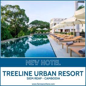 Treeline Urban Resort, Siem Reap, Cambodia ...