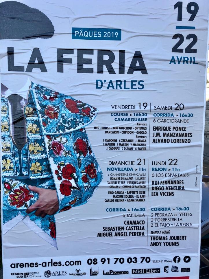 Arles Arena poster