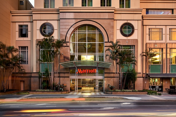 Brisbane Marriott Hotel - Queen Street entrance