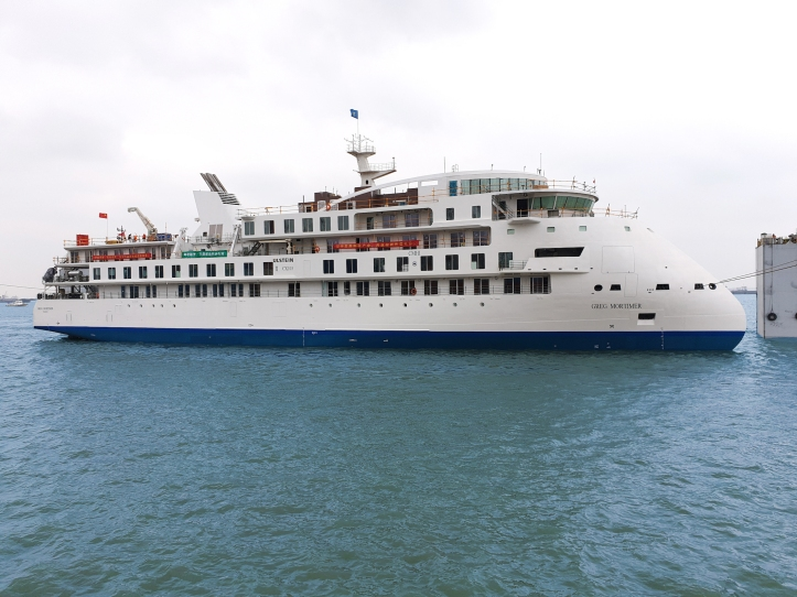 Aurora Expeditions, Greg Mortimer sea trails ...