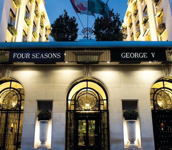 Four Seasons King George V - Paris, France ....
