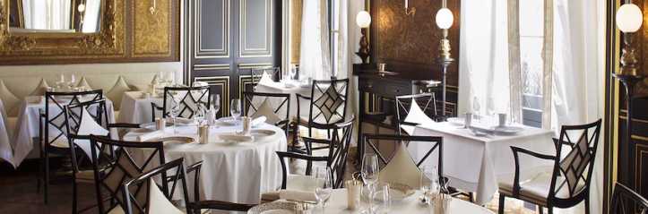 Restaurant Le Gabriel, La Reserve Paris Hotel and Spa - Pairs ...