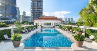 Raffles Singapore Swimming Pool