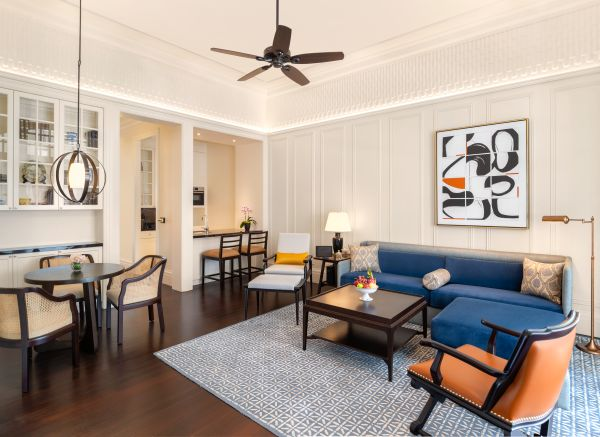 Raffles Singapore Resident Suite - Living Room