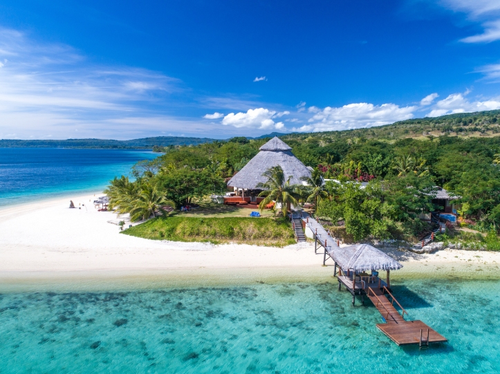 The Havannah Vanuatu jetty