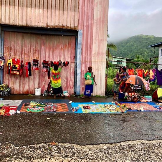 Sea Princess visits Rabaul...