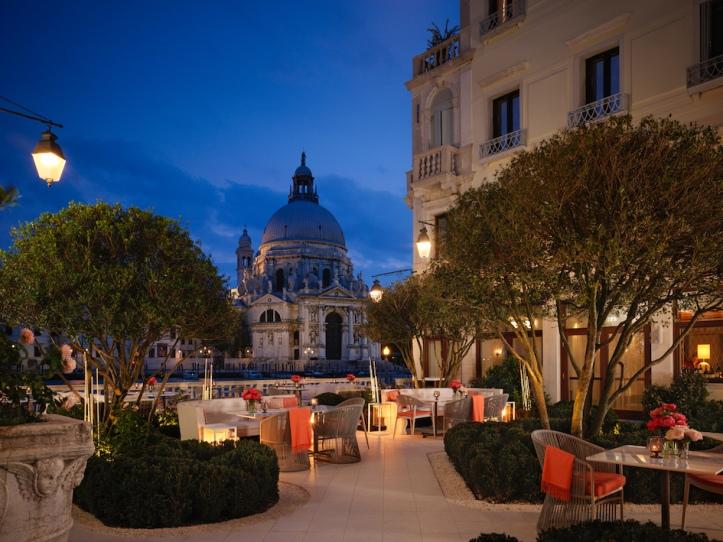 The St. Regis Venice garden