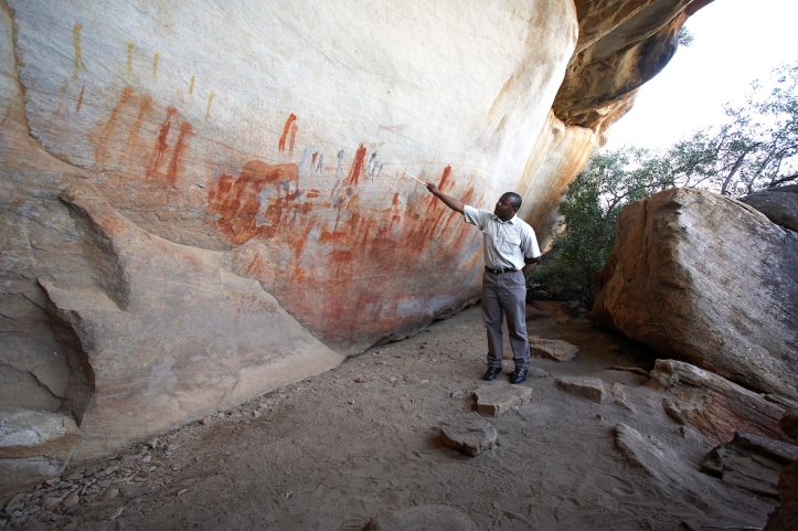 Bushman's Kloof Rock Art, South Africa.